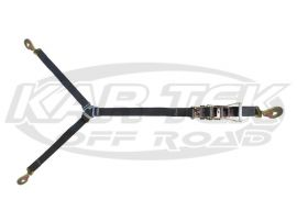 PRP Standard 3 Way Ratcheting Y Tie Down Strap For Spare