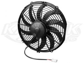 Spal 30102029 High Performance Automotive Electric Radiator Fan 12 Curved Blade 1328cfm Puller