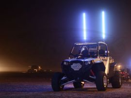 5150 Whips LED Whips 4 ft  LED w/ Wireless Remote
