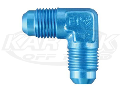 Shop Union Adapter Fittings Blue Aluminum 90 Degree Now