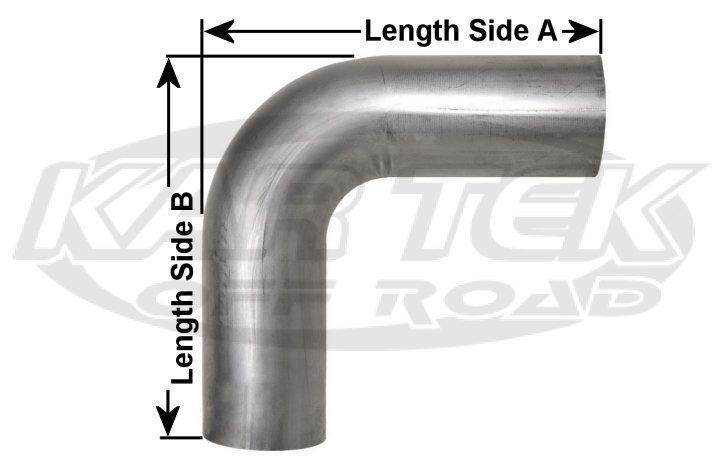 90 degree elbow tubing dimensions
