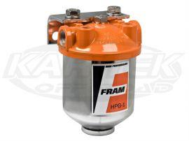 fram hpg1 series racing fuel filter housing with 5 micron element 3 Fram Tough Guard fram hpg1 series racing fuel filter housing with 5 micron element 3 8\