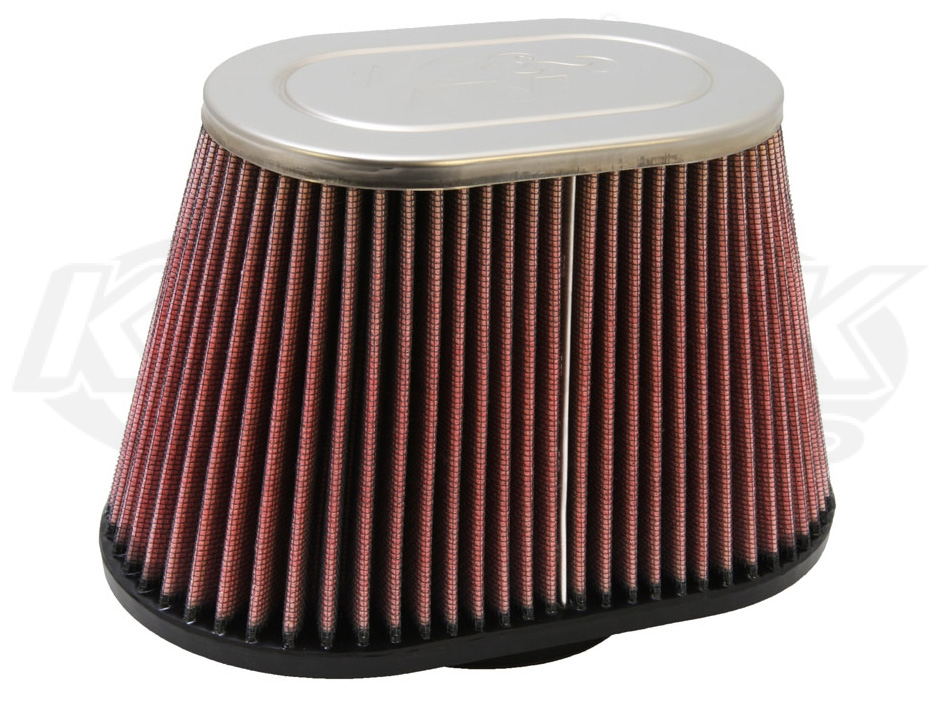 Shop Oval Tapered Cone Air Filters With Chrome Top Now