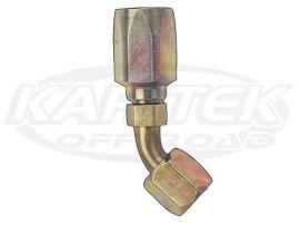 Fragola AN -10 Steel Power Steering High Pressure 45 Degree Bent