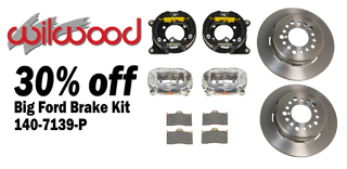 Shop Wilwood Rear Big Ford Brake Kit Sale Now