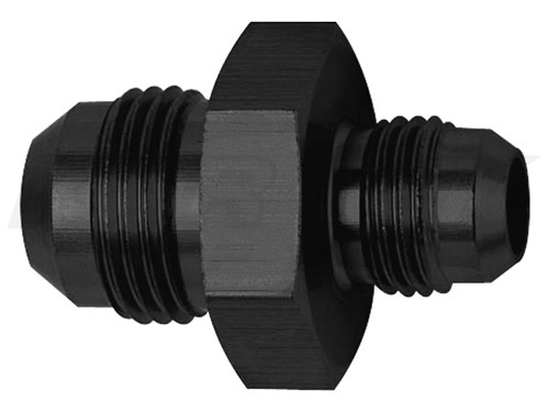 Shop Union Adapter Fittings Black Aluminum Reducers Straight Now