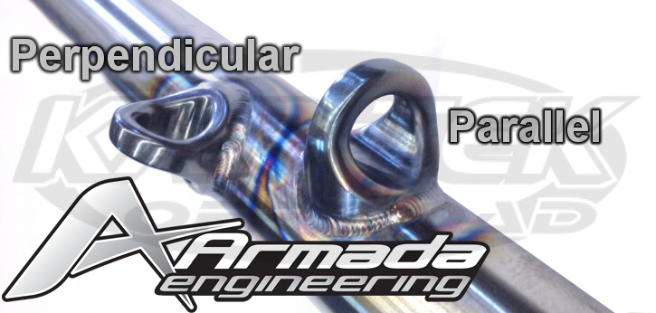 Armada Engineering weld in eyelets for clip in style seat belts