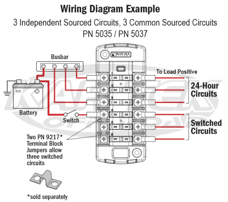 blue sea systems 5035 fuse box instructions blue sea systems wiring diagram blue sea systems add a battery  at n-0.co