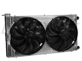 CBR 31x16 Dual Pass Aluminum Radiator With Dual Fans With
