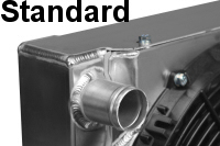 CBR 35x19 Dual Pass Aluminum Radiator With Dual Fans And