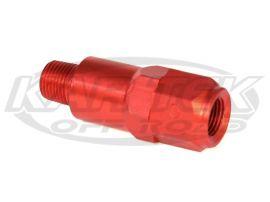 10 psi Wilwood Residual Pressure Drum Brake Pedal Travel Valve Anodised Red