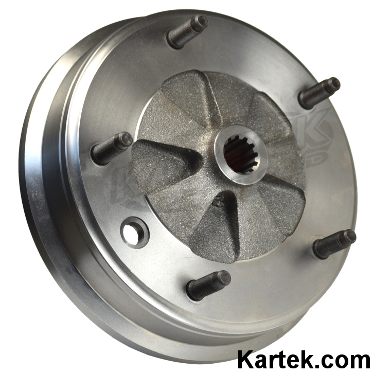 counterbored vw volkswagen baja bug brake drums for press in wheel studs