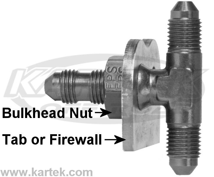 Fragola 492408 Bulkhead Nut