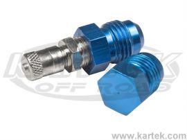 Fragola AN -8 Male Schrader Valve Hose Pressure Tester