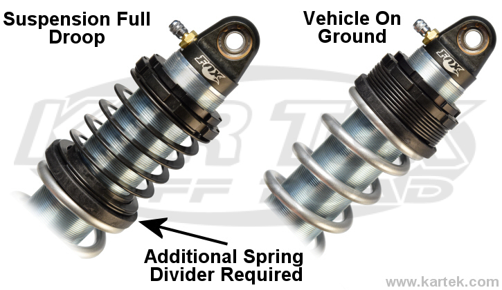 How to setup Eibach helper spring on Fox coil over shock