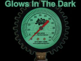 Joes Racing Products 3 30 Psi Glow In The Dark Dial Face Tire Air