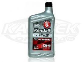 Kendall GT-1 High Performance 10w-40 Motor Oil 10W-40 1 Quart