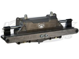Power Steering Solution 2 5 Piston Truggy Front Steer Wide Spread Rack Only Weighs 28lbs