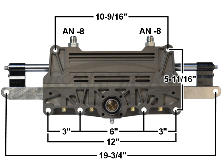 Power Steering Solutions Offroad Truggy Rack And Pinion Dimensions