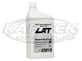 LAT Racing Oils 85w110 Semi Synthetic Transmission Gear Oil