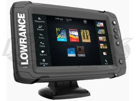 Lowrance Off-Road In-Dash Elite-7 Ti GPS 7