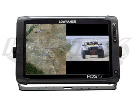 Lowrance HDS GPS Video Adapter Cable Allows You To Split Screen A GoPro  Camera As A Rear View Mirror