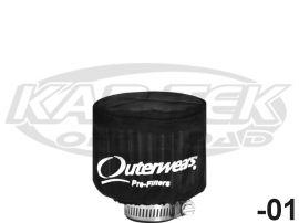 """Outerwears 10-1004-02 Air Filter Wrap from Polyester in Blue 14x5/"""""""