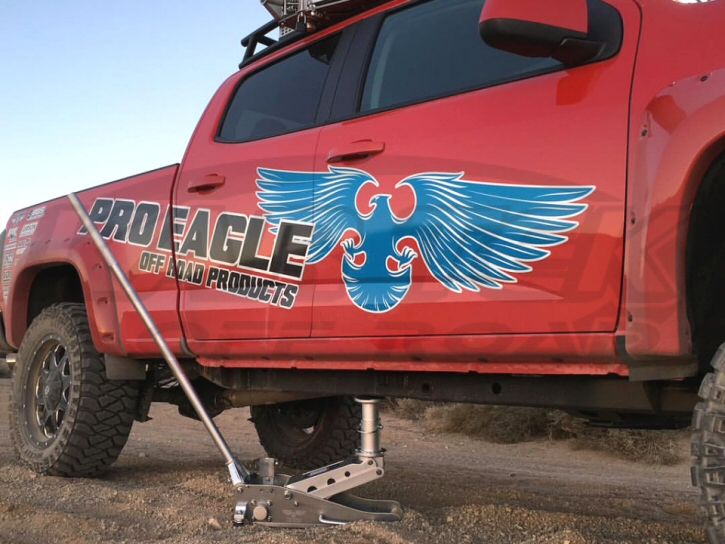 Pro Eagle Aluminum Floor Jack With Adjustable Extension
