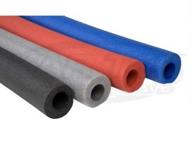 Foam Padding Roll >> Red Foam Roll Bar Padding 3 Feet Long Fits Over 1 50 Diameter Tubing With Offset Hole