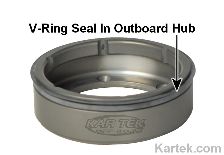 skf 401100 v ring seal 110va on outboard floater hub