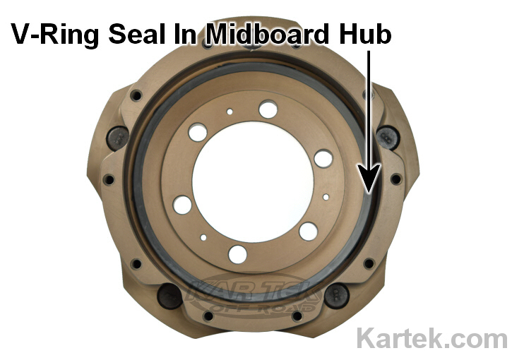 skf 401702 v ring seal 170vl on midboard floater hub