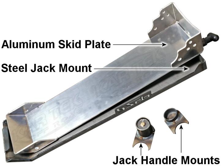 Solo Motorsports Pro Eagle 2 Ton Floor Jack Quick Release
