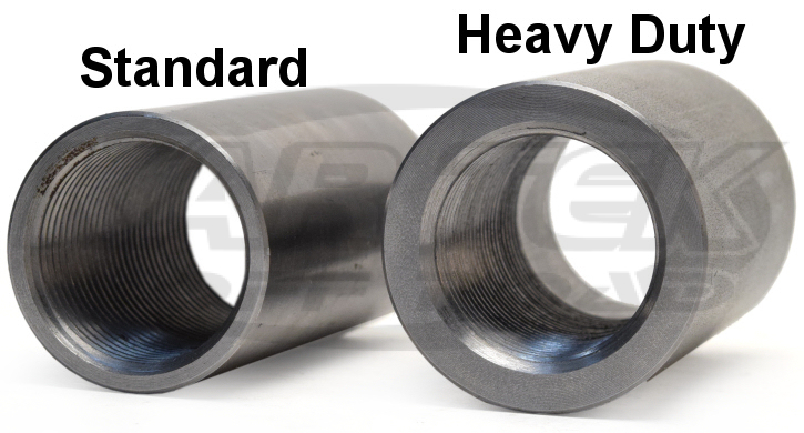 Standard bungs versus heavy duty bungs