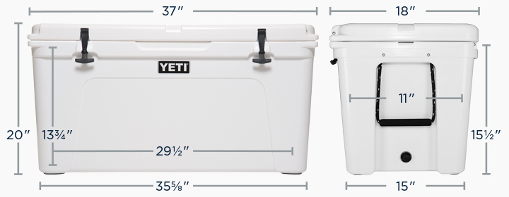 Yeti Coolers Tundra 110 Dimensions