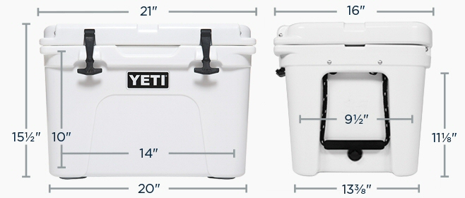 Yeti Coolers Tundra 35 Dimensions